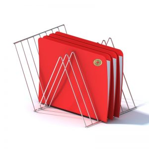 Red Files with Chinese Coin